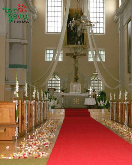Bažnyčios puošimas SUBTILUMAS
