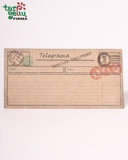 """Atvirukas/kvietimas """"Telegrama"""""""