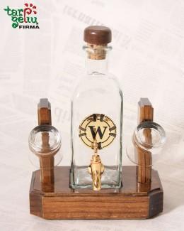 Baras butelis su kraneliu