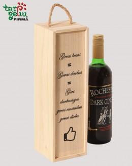 Vyno dėžė su linkėjimu BOSUI (-ei)