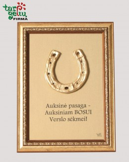 Auksinė pasaga auksiniam Bosui