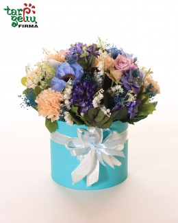 """Dekoratyvinių gėlių dėžutė """"Melsva"""""""