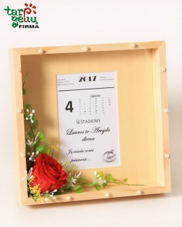 Rėmelis su vestuvių data