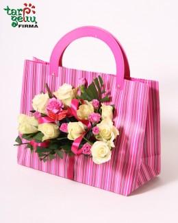 Rožių rankinukas