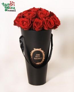 Rožės juodoje dėžutėje