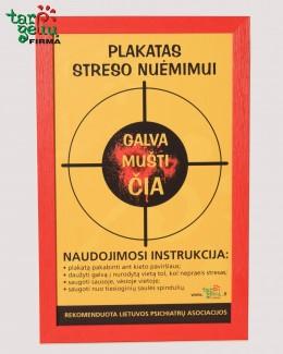 Plakatas streso nuėmimui