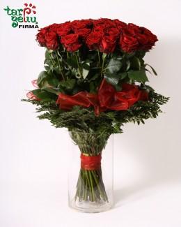 """Rožių puokštė """"Mylimajai"""""""