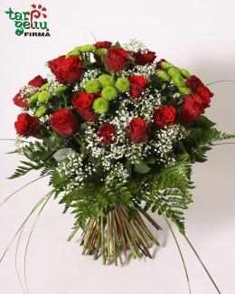 Rožių puokštė TRIO