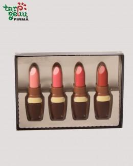 Šokoladiniai lūpų dažai