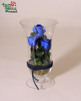 """Kompozicija """"Mėlynos rožės"""""""