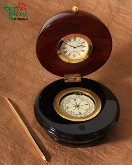 Kompasas-laikrodis-rašiklis