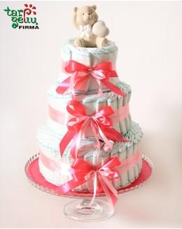 Sauskelnių tortas