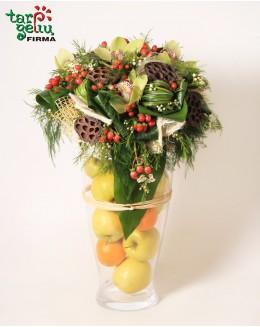 """Kompozicija iš vaisių """"Citrusas"""""""