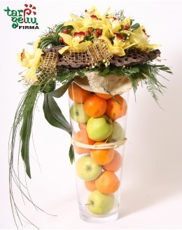 Kompozicija iš vaisių CITRUSAS