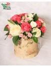 Gėlių dėžutė ROŽIŲ KVAPAS