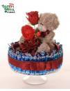 Valentino dienos tortas