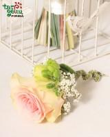 Butonjerė iš rožės