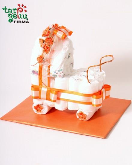 Sauskelnių vežimėlis