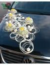 Mašinos papuošimas vestuvėms