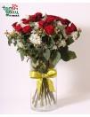 Букет из розы ЛЮБЛЮ ТЕБЯ