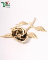 Металлическая роза