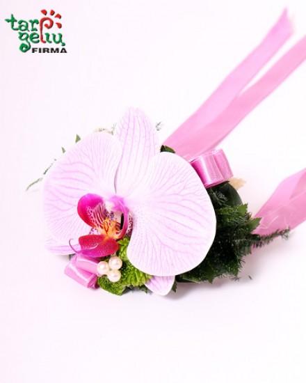Pamergės puokštė vieno žiBridesmaids bouquet of one flowerdo