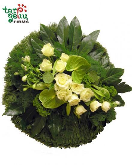 Funeral wreath SILENCE