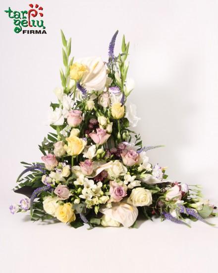 Elegant funeral arrangement