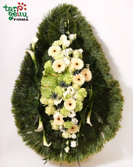 Funeral wreath  FAREWELL
