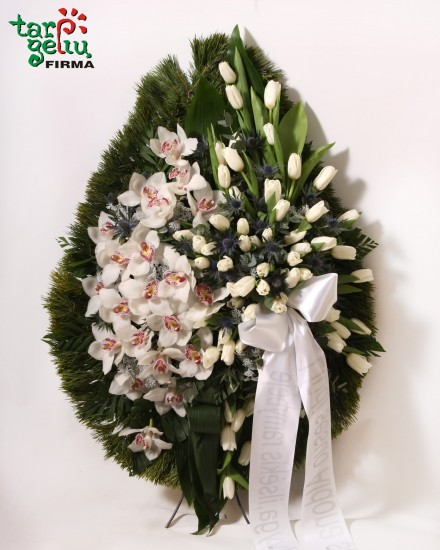 Funeral wreath TRANQUILITY