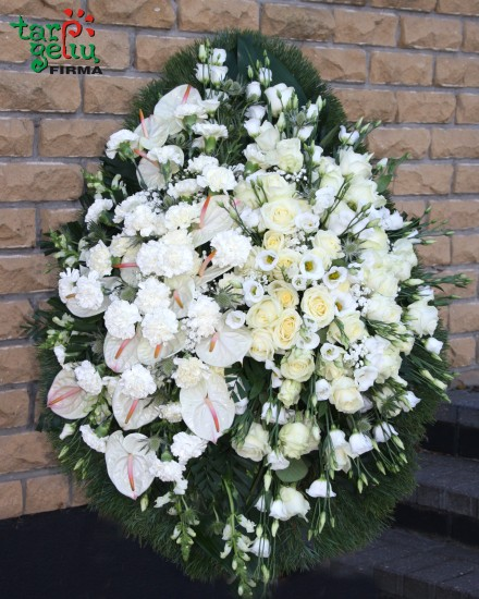 Funeral wreath FLOWER SADNESS