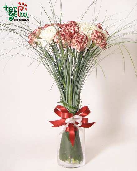 Colorful Gladiolus bouquet + GIFT