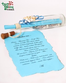 Letter in the bottle EMEIL@S