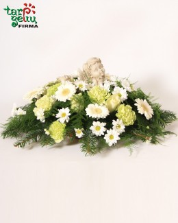 Funeral bouquet ANGEL