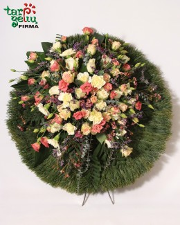 Funeral wreath REMEMBER