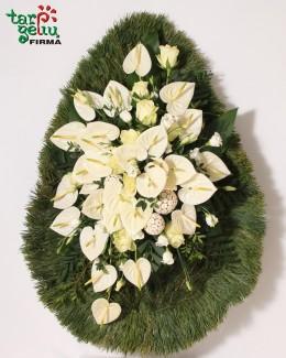 Funeral wreath UNFORGETTABLE