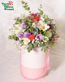 Flowers box BIRTHDAY