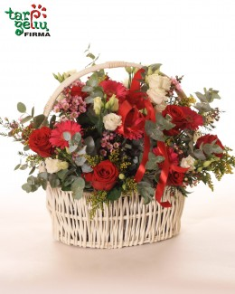 Wonderful Arrangement in Basket