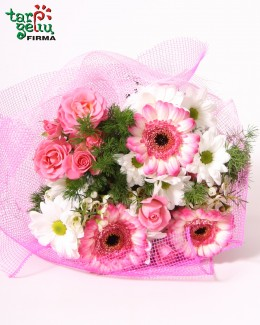 Bouquet in Pink Colours