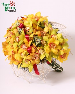 Arrangement ORCHIDS RAIN