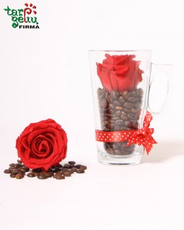Composition ROSE&Coffee