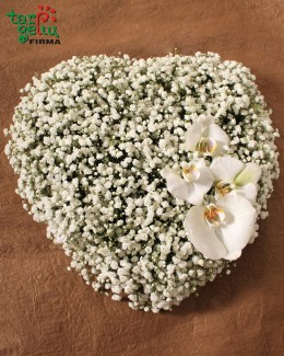 Funeral bouquet HEART