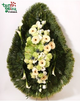 Funeral bouquet HEART