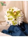 Vestuvinė puokštė ORCHIDĖJŲ GLAMELIJA