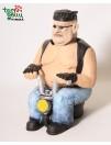 BAIKERIS ant motociklo butelio laikiklis