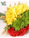 Gėlių puokštė LIETUVA