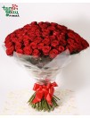 Bouquet 100 RED ROSES