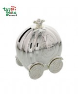 Pumpkin Carriage Money Box