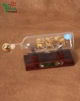 Laivas butelyje-grafinas