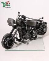 Handmade souvenir motorcycle
